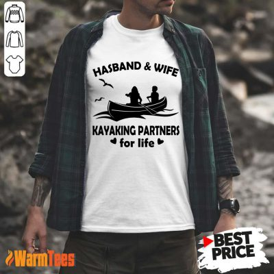 Husband And Wife Kayaking Partners Shirt