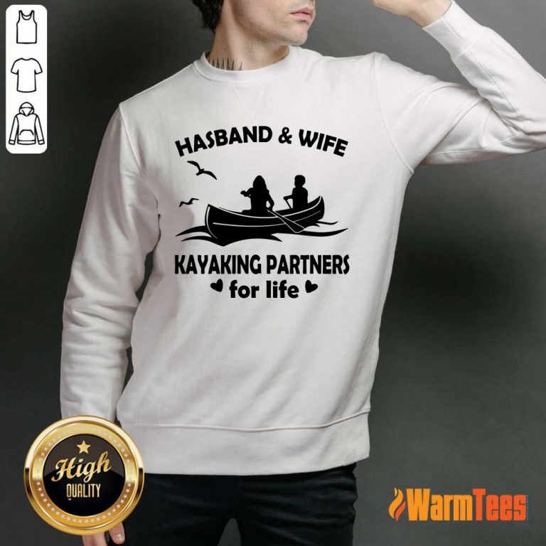 Husband And Wife Kayaking Partners Sweater