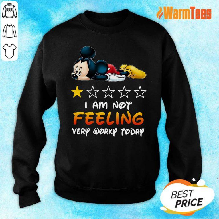 I'm Not Feeling Mickey Sweater