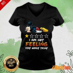 I'm Not Feeling Mickey V-neck