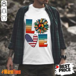 Love American Flag Vintage Shirt