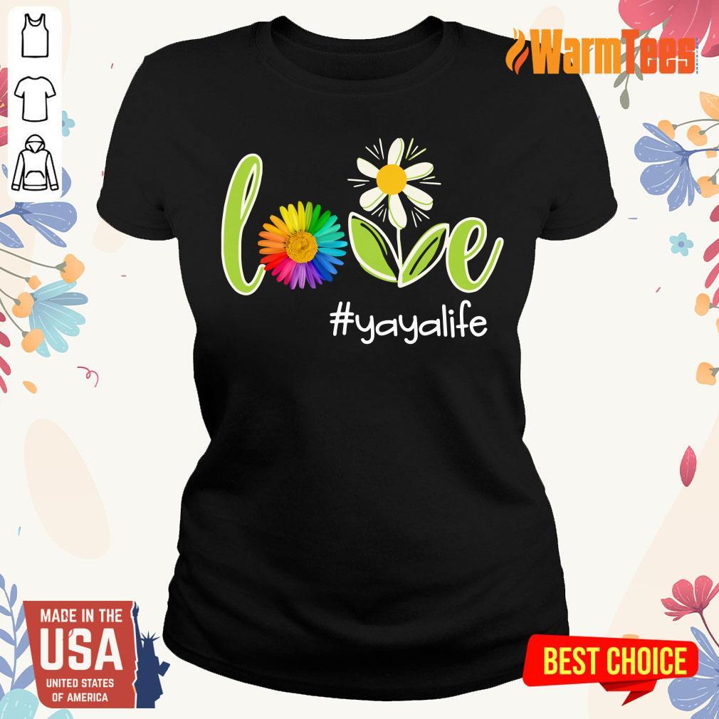 Love Yaya Life Flower Artistry Ladies Tee