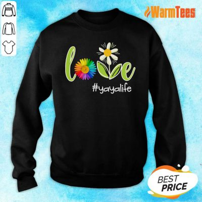 Love Yaya Life Flower Artistry Sweater
