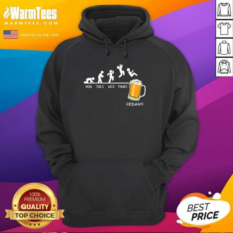 Monday Tuesday Friday Beer Hoodie