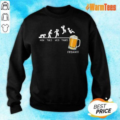 Monday Tuesday Friday Beer Sweater