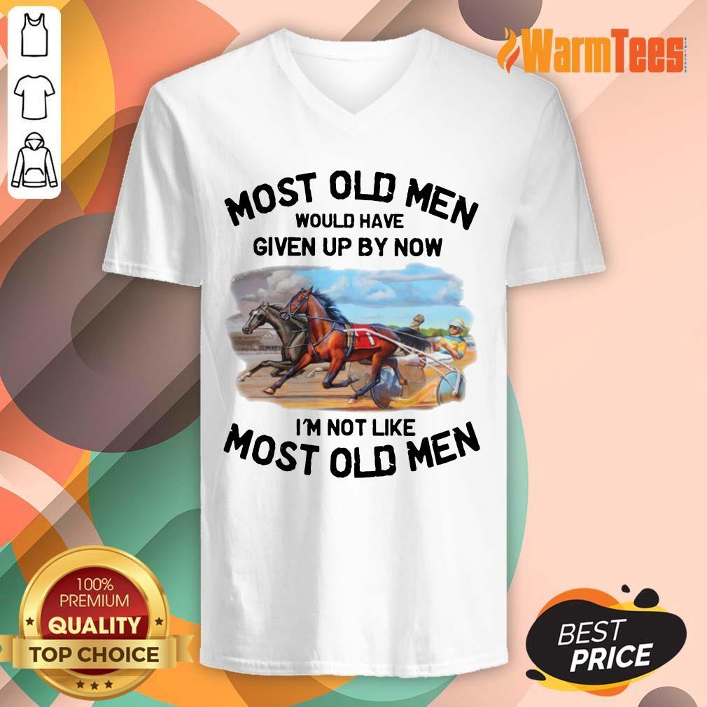 Most Old Men Harness Racing V-neck