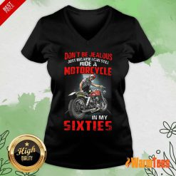 Motorcycle In My Sixties V-neck