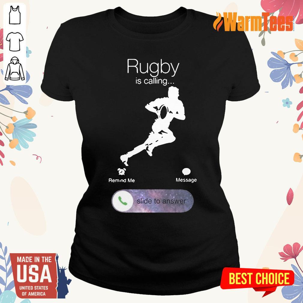 Rugby Is Calling Ladies Tee