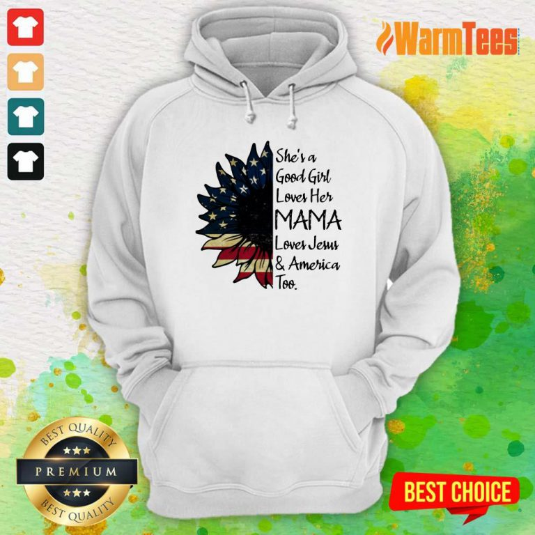 She's A Loves Her Mama Sunflower Hoodie