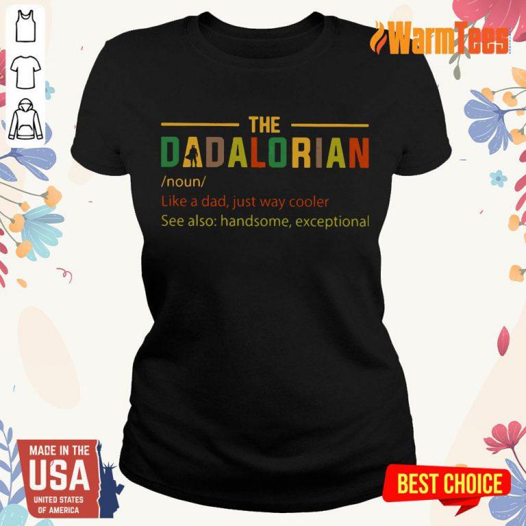 The Dadalorian Noun Ladies Tee