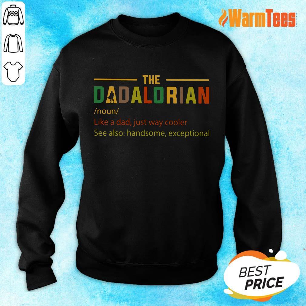 The Dadalorian Noun Sweater