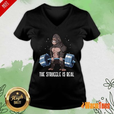 The Struggle Is Real Gorilla Sweater