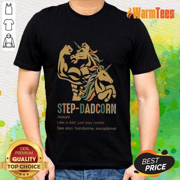 Unicorn Step-dadcorn Vintage Shirt