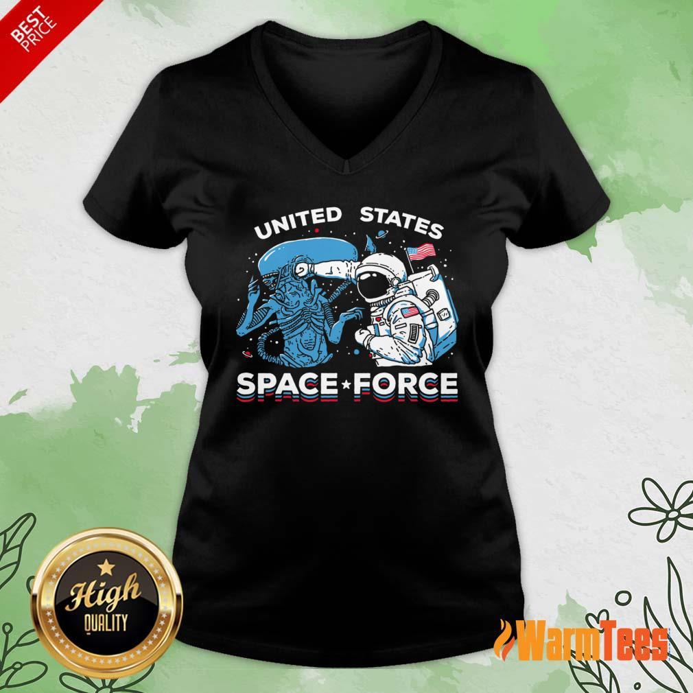United States Space Force V-neck