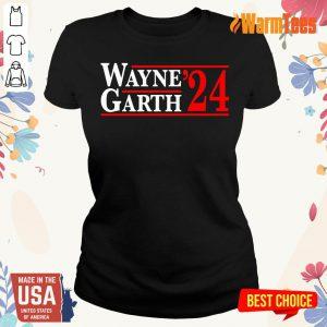 Wayne And Garth 2024 Ladies Tee