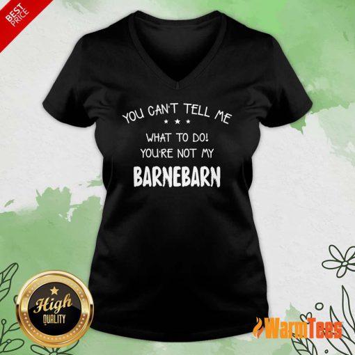 You Can't Tell Me Barnebarn V-neck